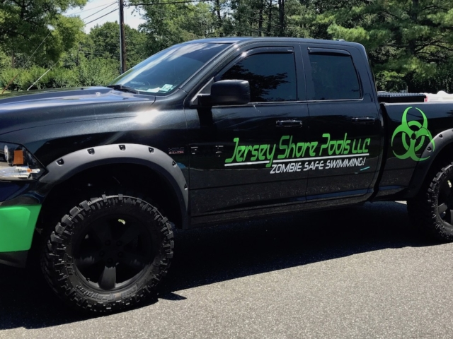 South Jersey Pools Vehicle Graphics
